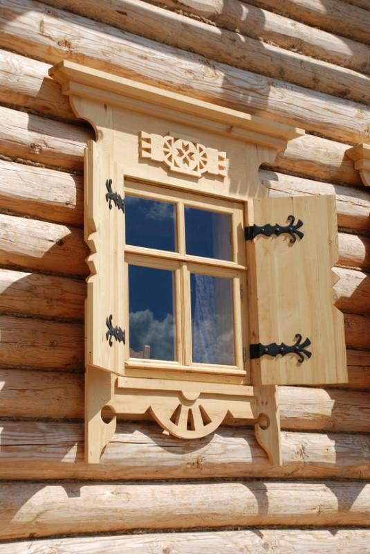 Окна из древесины сосны